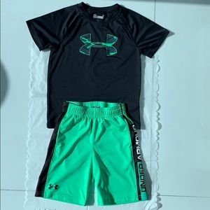 Under Armour Kids Shirt and shorts